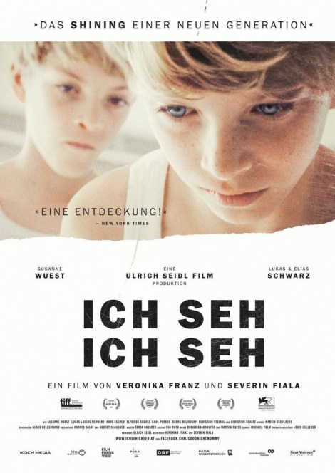 Ich Seh Ich Seh (original Austrian movie poster)